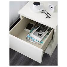 Malm Side Table Malm 2 Drawer Chest White 15 3 4x21 5 8 Ikea