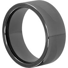 gunmetal wedding band trojan gunmetal tungsten rings black design 10mm forever metals