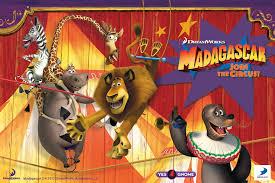 madagascar join circus games adventure family