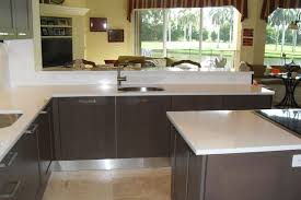 Kitchen Countertop Options Modern Kitchen Countertops And Oak Cabinets U2014 Desjar Interior
