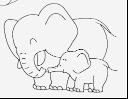 brilliant cute baby elephant coloring pages with cute animal