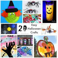 20 easy halloween crafts arty crafty kids