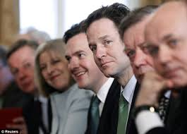 Members Of British Cabinet The Coalition Of Millionaires 23 Of The 29 Member Of The New
