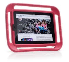 ipad 2 3 and 4 case red gripcase