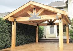25 Best Covered Patios Ideas On Pinterest Outdoor Covered by Wood Patio Covers Home Design Pictures