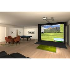 full swing s2 golf sim w upgraded projector game room guys