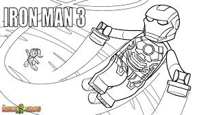 iron man 3 pdf printable coloring page