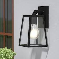outdoor wall lantern lights outdoor lighting you ll love