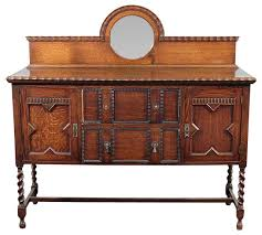 traditional buffet antique oak jacobean barley twist buffet sideboard traditional