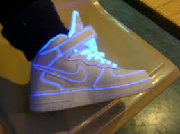 light up high tops nike su san on neon nikes swag and neon