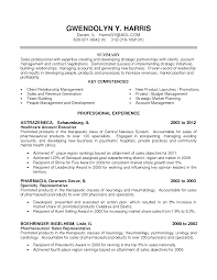 Medical Sales Resume Sample Resume Insurance Account Manager Resume