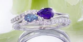 birthstone engagement rings birthstone engagement rings 2 rings