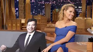 160620 3054763 jimmy gives blake lively a life size cutout jpg