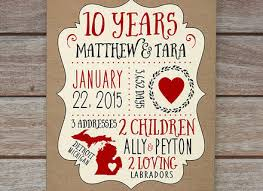 5 year anniversary gifts for 15 10 year wedding anniversary gifts top 20 best 1st wedding
