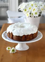 sweet potato pound cake with cream cheese frosting grateful