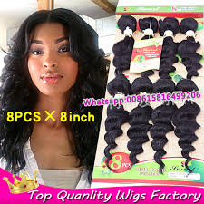one inch hair styles 8pack 8inch cheap weave bundles deep wave real 100 human