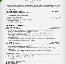 Resume Examples Waitress by Projects Inspiration Food Service Worker Resume 3 Food Service