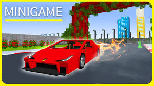 Mpce Maps Minecraft Pe Maps Best Racing Car Minigame Map Download Ios