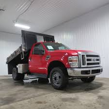 Ford Diesel Dump Truck - 2009 ford f 350 flat bed dump 4x4 6 speed manual southern