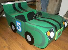 How To Make A Easy Toy Box by A Step By Step Tutorial On How To Make A Race Car Out Of Cardboard
