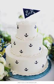 nautical themed wedding cakes 10 sea loving nautical cakes