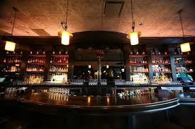 Bar Interior Lighting Design Of The Gage Restaurant Chicago - Restaurant bar interior design ideas
