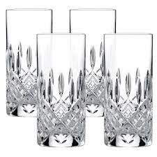 Royal Doulton Crystal Vase Royal Doulton Crystal Highclere Highball Set 4pce Peter U0027s Of