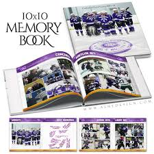 yearbook maker ashe design sports yearbook 10x10 memory maker ashedesign