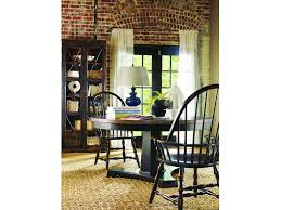 round pedestal dining room table hooker furniture dining room sanctuary 60 in round pedestal dining