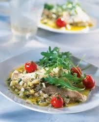 comment cuisiner de la raie recette salade d ailes de raie