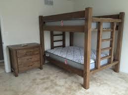 EZ Mountain Rustic Furniture - Timber bunk bed