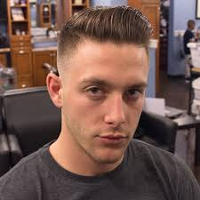 white guy fade haircut part cut updos for short hair