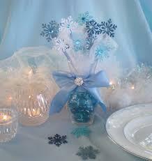 Blue Snowflakes Decorations Best 25 Frozen Table Decorations Ideas On Pinterest Frozen