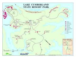 cumberland lake map lake cumberland state resort park map jamestown ky mappery