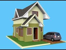 Cute Small House Plans A Small House Design With Attic Ideal For 8m X 12m U003d 96 Sq M Lot