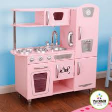 kidkraft pink retro kitchen grand espresso corner play from