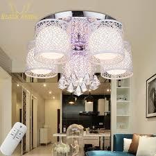 aliexpress com buy crystal led ceiling light for living room