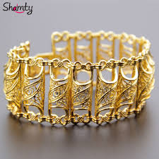 bangle bracelet color gold plated images Arab bracelet for women gold plated wide bracelet middle east jpg