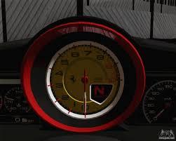 ferrari 458 speedometer 458 italia 2010 for gta san andreas