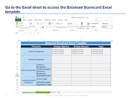 Scorecard Excel Template Strategy Map Template Balanced Scorecard Template By Ex Mckinsey