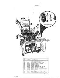 murray murray snow thrower parts model 629104x87 sears partsdirect
