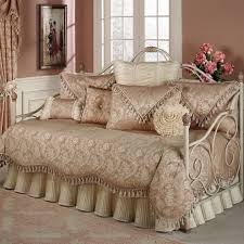 Wrought Iron Daybed Bed Bath Astounding Day Bed Bedding For Decorating Bedroom