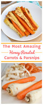 honey roasted carrots and parsnips thanksgiving side dishes