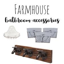 farmhouse bathroom accessories sweet maple lane
