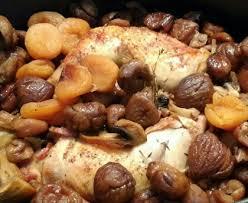 cuisiner marrons frais cuisses de poulet au miel marrons et arbicots secs recette de
