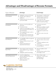 types of resume formats types of resumes sles types of resume 18 formats jobsxs