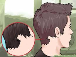 how to trim sides and back of hair how to cut a faux hawk with pictures wikihow