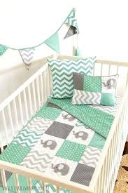 Mint Green Crib Bedding Pink And Green Baby Blankets Cheerful Aqua Pink And Green Nursery