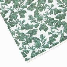 botanical wrapping paper botanical leaf wrapping paper by tuppence collective