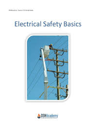 study guide to electrical safety basics osha 1 electric shock